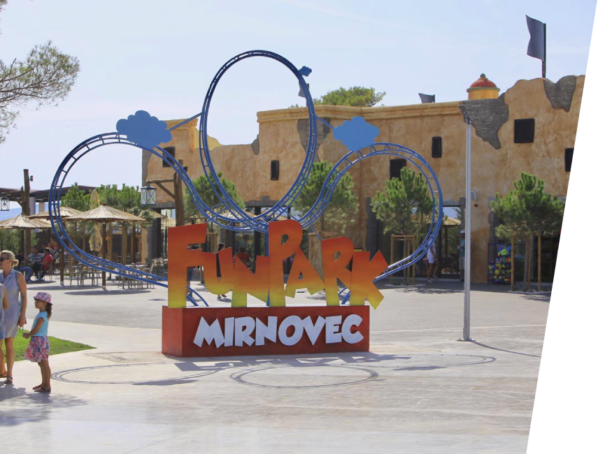 Fun Park Biograd Location